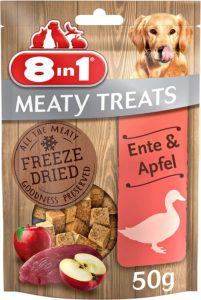 8in1 Meaty Treats, getreidefreie Hunde Leckerlis