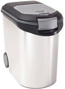 Curver Container für Futter, Futterbehälter, Futtertonne 35L