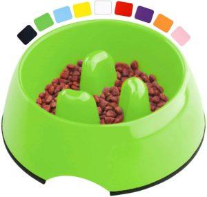 DDOXX Fressnapf Antischlingnapf, rutschfest, viele Farben & Größen, für kleine & große Hunde, Futter-Napf zur Futterumstellung