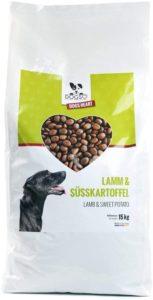 DOGS-HEART Lamm & Süßkartoffel Getreidefreies Hundefutter mit hohem Fleischanteil