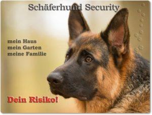 Deutscher Schäferhund-Hundeschild