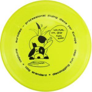 Eurodisc Discdogging Scheibe für Hunde Frisbee