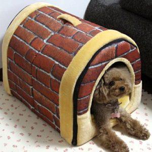 Freahap L,M,S Hundebett, Hundehöhle, Hundehütte, Tragbar Outdoor-Indoor