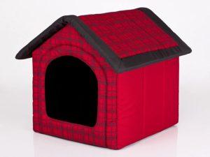 HobbyDog Hundehütte, Hundehöhle, Größen 1-6, für kleine & große Hunde