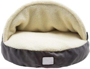Hundehöhle, gemütlich, warm, Kaschmir, weiche Hundehütte für große Hunde