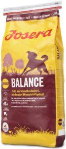 JOSERA Balance, fett- und eiweißreduziertes Hundefutter für Senioren, glutenfrei