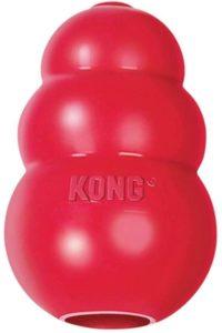 KONG, Classic Hundespielzeug, Robuster Naturkautschuk, Kauen, Jagen, Apportieren
