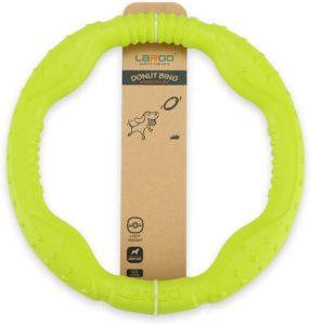 LaRoo Hundefitness-Ring, Hundefrisbee, Flugscheibe für Mittelgroße und kleine Hunde