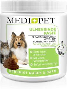 Medidog 500g Premium Paste für bessere Verdauung und Darmflora, Ulmenrinde für Hunde zur Darmsanierung