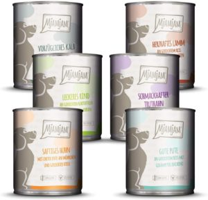 MjAMjAM, Premium Hundefutter, Mixpaket
