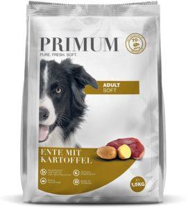 Primum, Halbfeuchtes getreidefreies Hundefutter