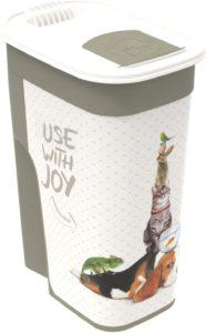 Rotho Aufbewahrungsbox, Snackdose, Snackbox, Kunststoff, 4.1 Liter