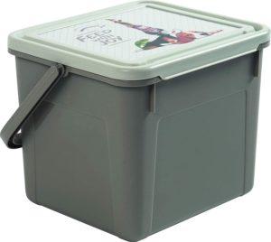 Rotho Aufbewahrungsbox aus Kunststoff, Futterdose mit Tragegriff und Deckel