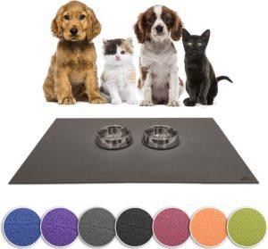 Sanosoft SanoZoo Napfunterlage - Made in Germany - Futtermatte für Hunde zur Futterumstellung