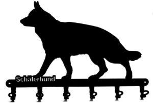 Schlüsselbrett Schäferhund