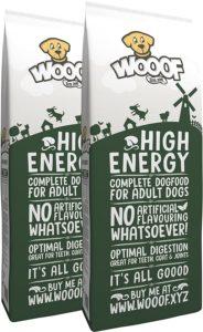 WOOOF High Energy mit hohem Energieanteil_kaltgepresstes Hundefutter