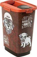 Rotho Hundefutterbox Aufbewahrungsbox aus Kunststoff (PP)